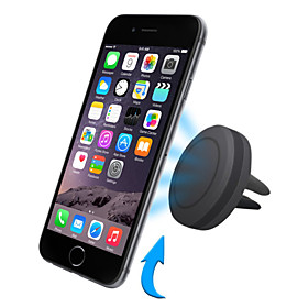 Car Universal / Mobile Phone Air Vent Mount Stand Holder Magnetic Universal / Mobile Phone Plastic Holder