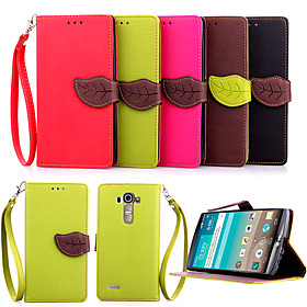 Hot Flip Wallet Leather Case With Stand Holder Luxury Flip PU Leather Case For LG G4/G3/G3 Mini/L90(Assorted Colors) 4004820