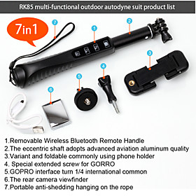 selfie stick with zoom monopod