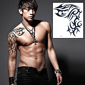 Totems Celebrity Tattoo Stickers Temporary Tattoos(1 Pc) 3729032