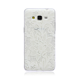 For Samsung Galaxy Case Transparent Case Back Cover Case Flower TPU Samsung Grand Prime 3732537