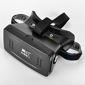 "RIEM 2 Universal Virtual Reality 3D and Video Glasses for 3.5''-6""""Smartphones-Black (Second Generation)"" 3545933"