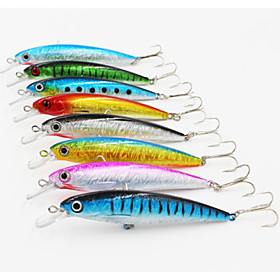 110mm14g Bronzing  Minnow Bass Hard Bait Fishing Lure 3837426