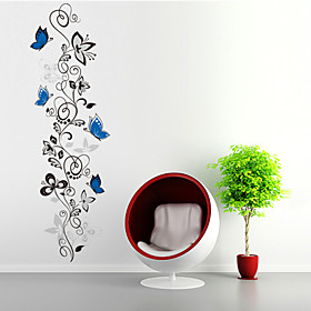 Animals Shapes Florals Cartoon Wall Stickers Plane Wall Stickers Decorative Wall Stickers, PVC Home Decoration Wall Decal Wall