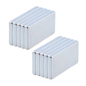 10 pcs 20102mm Magnet Toy Building Blocks Puzzle Cube Neodymium Magnet Magnet Magnetic Adults' Boys' Girls' Toy Gift