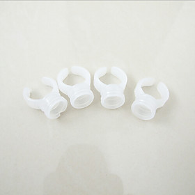 100pcs/lot Permanent Makeup Plastic Ink Cup Ring Ink Holder For Tattoo Eyebrow Eyeliner Lip Cosmetic Kit Supply 3966944