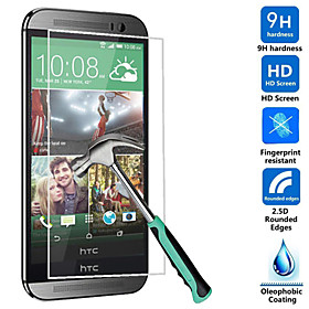 Ultra Thin HD Clear Explosion-proof Tempered Glass Screen Protector Cover for HTC One M8 3880633