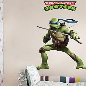 Cool Teenage Mutant Ninja Turtles PVC Wall Sticker Wall Decals 3933606