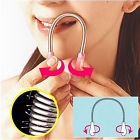 Face Facial Hair Spring Remover Stick Removal Threading Nice Tool Epilator (Random Color) 3956335
