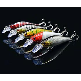 "5 pcs Hard Bait / Minnow / Lure kits / Fishing Lures Lure Packs / Hard Bait / Minnow Others 8 g/5/16 oz. Ounce mm/3-1/4"""" inch,Hard Plastic"" 3837424"