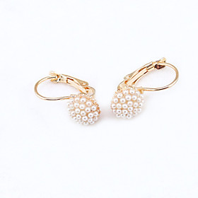 Women's Crystal Stud Earrings - 18K Gold Plated, Rhinestone, Gold Plated European, Fashion For / Imitation Diamond / Austria Crystal