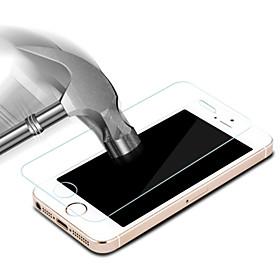 0,02 mm resistente a los arañazos ultra-delgada pantalla de vidrio templado protector para el iphone 5 / 5s / SE 4972441