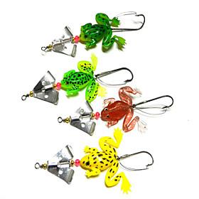 4pcs Fishing Bait Soft Lures (Random Color) 3842319