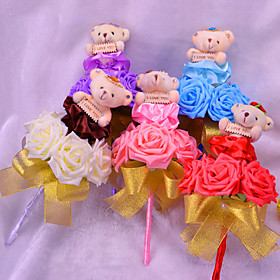 Plush Toy Doll Bouquet Teddy Bear Gifts For Christmas Wedding Gifts 3940219