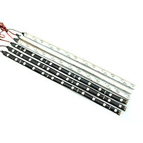 Image of 0.3M 12LED White/Red/Blue/Yellow Flexible LED Light Strips DC12 V