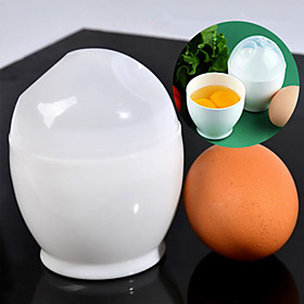2Pcs Microwave Oven Soft Boiled Egg Cup For Various Ways of Cooking Quick Egg 4881364