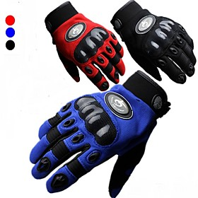 SU Motorcycle/Riding/Bike Drop Resistance Full Finger Gloves Motocross Racing Gloves for Men M/L/XL Red/Black/Blue 4223971