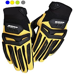SC Motorcycle/Riding/Bike Drop Resistance Full Finger Gloves Motocross Metal Racing Gloves for Men And Women M/L/XL/XXL 4223967