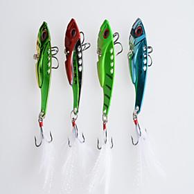 Hengjia Metal Bait/VIB 11g/pc 4pcs  55mm Lure Fishing 4079872