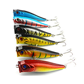 Hard Bait Popper 90MM 14G Sinking Fishing Lure 4196528