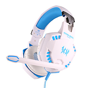 EACH G2100 Headphone Wired 3.5mm Over Ear Gaming Vibration Volume Control with Microphone For PC 2483096