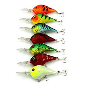 10Pieces Hengjia Crank Baits 11.2g  95mm Fishing lures Random Colors 4843030