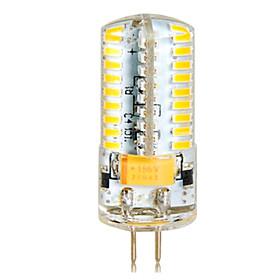 Image of 1 pcs G4 7 W 72 SMD 3014 650 LM Warm White/Cool White High Bright Corn Bulbs (AC/DC 12-24V)