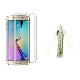 Ultra Thin 0.1mm Explosion-proof Soft TPU Screen Flim Protector For Samsung galaxy S6 Edge G925F 4071309