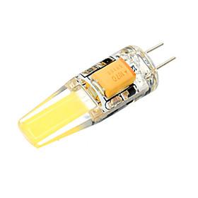 Image of 1 pcs G4 3 W 1 COB 300 LM Warm White / Cool White LED Corn Bulbs AC/DC 10-14 V
