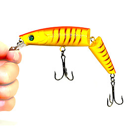 Hard Fishing Baits  1 pc Two-section Floating Minnow 140MM 20.2G (Color Random) 4249599