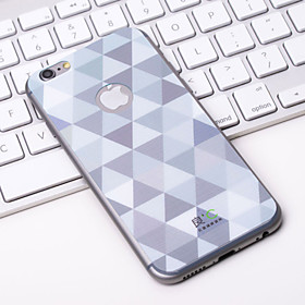 Fashion Shining Slivery iPhone6 Case Anti-radiation Graphene Cooling Phone Stickers Case Cover for Apple iPhone6 Coupon 2016