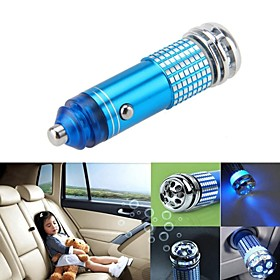 New Mini Auto Car Fresh Air Ionic Purifier Oxygen Bar Ozone Ionizer Cleaner 4252387