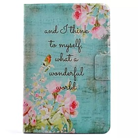 Flower Pattern Standoff Protective Case for iPad Mini 4 4499760