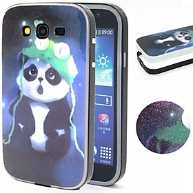 For Samsung Galaxy Case Pattern Case Back Cover Case Animal TPU Samsung Grand Neo / Grand 4420829