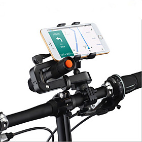 Phone Holder Stand Mount Bike / Motorcycle / Outdoor Handlebar Adjustable Stand Plastic for Mobile Phone 4413270