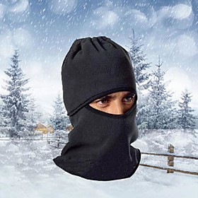 Ski Balaclava Hat Balaclava Bike Breathable Thermal / Warm Windproof Dust Proof Women's Men's Black Fleece 4483335