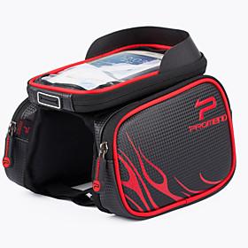 Promend Cykeltaske <10LMobiltelefonetui Taske til stangen på cyklen Taske til cykelstyretRegn-sikker Støv-sikker Stødsikker 4497992