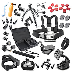 Accessory Kit For Gopro 40 in 1 Waterproof ForAll Action Camera Xiaomi Camera Gopro 5 Gopro 4 Gopro 4 Silver Gopro 4 Session Gopro 4 4499374