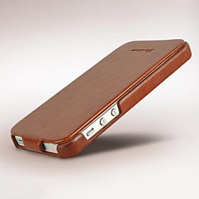 Funda Para iPhone 5 Apple Funda iPhone 5 Flip Funda de Cuerpo Entero Color sólido Dura Cuero de PU para iPhone SE/5s iPhone 5 4484413