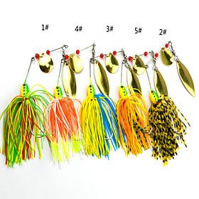 Anmuka Soft Bait / Spinner Baits 16.3 g 5 pcs Spinnerbait lures Sea Fishing / Lure Fishing / General Fishing 4504761