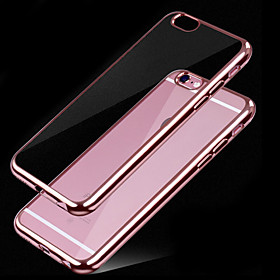 For iPhone 7 Plus Super Soft Thin Plating TPU Material Phone Case for iPhone 6/6S 4484523