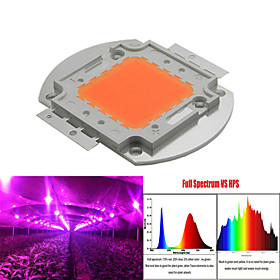 100W 502W LED Grow Light Full Spectrum Integrated Grow LED Chip Cover 380nm~840nm Best for Hydroponics/Greenhouse
