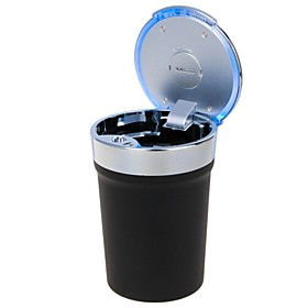 Universal Portable Cup Style LED Ashtray for Car Use(1 x CR2032) 4460652