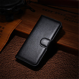 DE JI Case For Apple iPhone 8 / iPhone 8 Plus / iPhone 7 Wallet / Card Holder / with Stand Full Body Cases Solid Colored Hard PU Leather for iPhone 8 Plus / iP