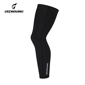 GETMOVING Compression Clothing Tights Leg Warmers/Knee Warmers Bottoms Winter Spring Fall Anatomic Design Ultraviolet Resistant Moisture 4483039