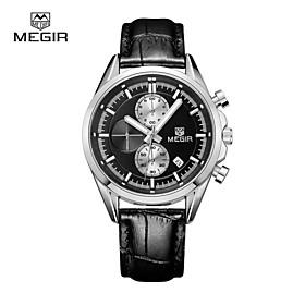 MEGIR Fashion Men's Watches Sport Watch 2015 Top Luxury Brands Waterproof Quartz Watch Cool Watch Unique Watch 4461615