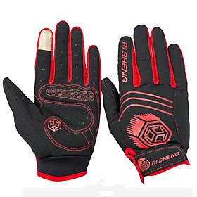 WEST BIKING Outdoor Biking Gloves Breathable Cycling Gloves Full Finger Slip Touch 4502207