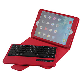 High Quality Leather Flip Folding Case Bluetooth Keyboard for iPad Mini 4 7.9 inch (Assorted Colors)