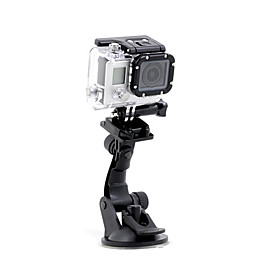 Suction Cup Mount/Holder For Gopro Hero 2 Gopro Hero 3 Gopro Hero 3 Gopro Hero 5 Gopro Hero 4 Adjustable Convenient 4603389