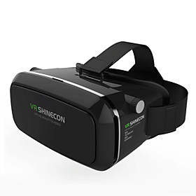 VR BOX Shinecon Virtual Reality 3D Glasses Cardboard 2.0 VR Headset (Black Color) 4579057